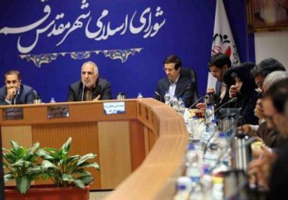 هفتمین جلسه شورا با موضوع برداشت بیرویه از منابع آبی