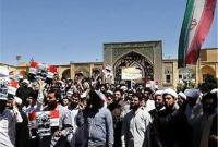 تجمع مردم قم در محکومیت جنایات رژیم آل سعود برگزار شد