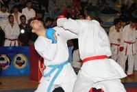 آموزش استعدادهای کاراته قم زیر نظر قهرمان آسیا