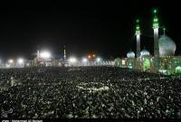 مراسم عزاداری شهادت امام حسن عسکری(ع) در مسجد جمکران برگزار شد
