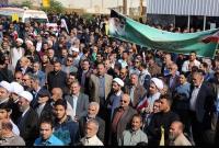 راهپیمایی یومالله ۱۳ آبان در قم آغاز شد