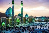 برگزاری صبحگاه مشترک نیروهای مسلح در مسجد مقدس جمکران