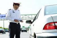 برخورد پلیس قم با خودروهای حادثه ساز و بوقهای ممتد رانندگان