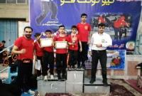 ورزشکاران مهابادی در مسابقات نیو کونگ فو کشوری خوش درخشیدند