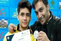 پینگ پنگ باز نوجوانی قمی نایب قهرمانی ایران شد