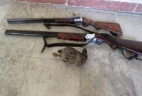 سه شکارچی متخلف در تالاب مره قم دستگیر شدند