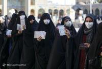 عکس/ زنان قمی در صف رای دادن