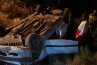 خواب آلودگی راننده در جاده قم حادثه آفرید/ ۳ نفر در دم کشته شدند