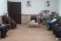 خادمان مسجد مقدس جمکران مهمان کرمانی ها