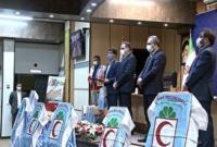 مراسم تحلیف داوطلبان جدید جمعیت هلال احمر قم برگزار شد