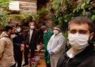 حضور جهادی طلاب در عرصه خدمت به بیماران کرونایی/طلاب برای غسل متوفیان کرونایی همچون فرشته وارد میدان شدند
