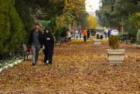 عکس/ رخت پاییز بر تن بوستانهای قم