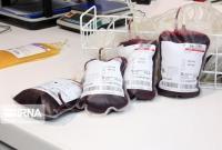 ۱.۲ درصد اهدای خون در قم کاهش یافت