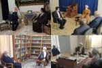 وزیر بهداشت با مراجع عظام تقلید در قم دیدار کرد
