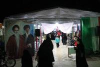 نمایشگاه «شمیم بهشت» در شهر قنوات افتتاح شد