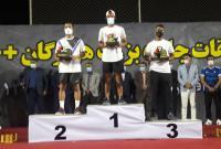 تنیسوری از قم قهرمان تنیس جایزه بزرگ کشور شد