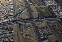 اتمام رمپ اتصال بلوار امام رضا(ع) به پل ۹ دی
