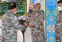 فرمانده جدید گروه پدافند هوایی حضرت معصومه(س) آغاز به کار کرد