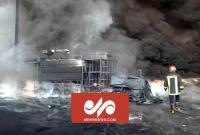آتشسوزی مهیب در شهرک شکوهیه قم