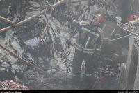 اطفای حریق در شهرک شکوهیه قم / دو آتشنشان به شدت دچار مصدومیت شدند