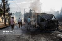 تشکیل پرونده قضایی برای حادثه آتش سوزی کارخانه صنایع شیمی مولدان