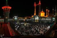"""طنین نوای""""الهی العفو"""" مردم قم در شب پایانی قدر به روایت تصویر"""