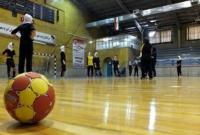 دختران هندبالیست قم در اردوی مسابقات آسیایی قزاقستان